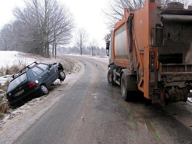 Nehoda u Domanína