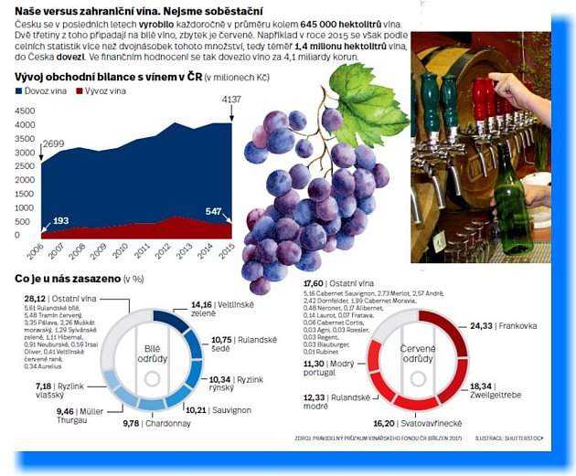 Infografika - víno.