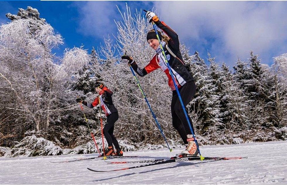 Staroměstské biatlonistky Aneta a Veronika Novotné si počínaly výtečně na nominačním klání v Letohradu.