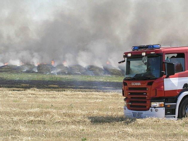 Požár. Ilustrační foto.