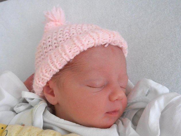 Hana Zárubová ze Suchdola nad Lužnicí se narodila 19. února 2013. Vážila 2750 gramů. Doma se na ni těší dvouletý bráška Tomáš.