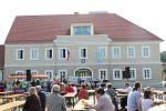 V Kardašově Řečici se lidé přišlil podívat do nově opravené radnice.