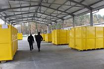 Nový sběrný dvůr Na Cihelně v Hradci je už otevřený.