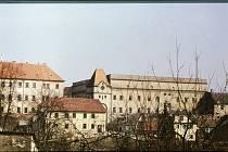 Jindřichův Hradec v roce 1976.
