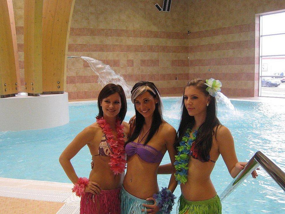 Slavnostní otevření bazénu