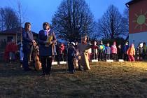 Svatomartinskou slavnost si užily děti v Jarošově nad Nežárkou.Foto: archiv ZŠ a MŠ Jarošov nad Nežárkou