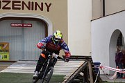 Z jízdy odvážných bikerů, kteří se řítili z dačické věže až na náměstí, se mnohdy tajil dech.