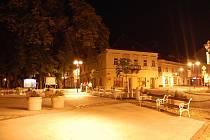 Masarykovo náměstí v J. Hradci.