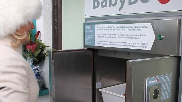 Babybox v Jindřichově Hradci.