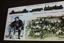 O historii obrněného vlaku Orlík vyprávěl Karel Ludvík.