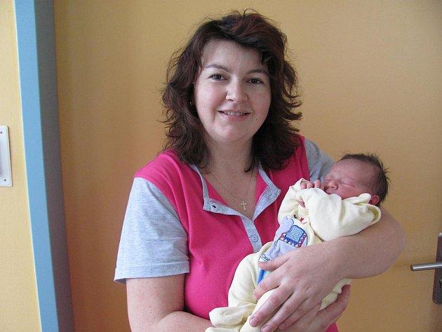 Marek Chodec z Jindřichova Hradce se narodil 21. prosince 2011 Janě a Martinovi Chodcovým. Měřil 52 centimetrů a vážil 3 600 gramů.