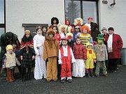 Maškarní karneval na Střelnici v sobotu 28. února