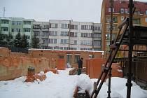 Výstavba nové mateřské školy na sídlišti Hvězdárna v Jindřichově Hradci.