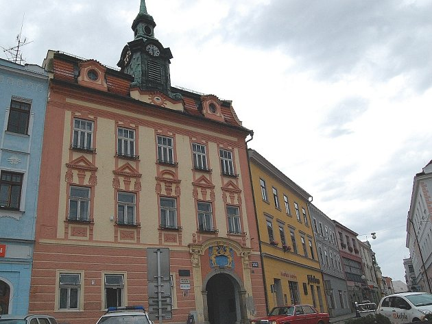 Stará radnice v J. Hradci