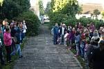První školní den v základní škole v Rapšachu.