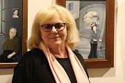 V Domě Štěpánka Netolického v Třeboni vystavuje své olejomalby a grafiky Iva Hüttnerová.
