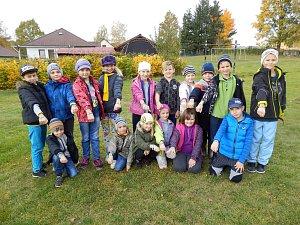 V základní škole v Lodhéřově se opět zapojili do projektu 72 hodin.