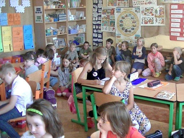 Základní škola v Plavsku.