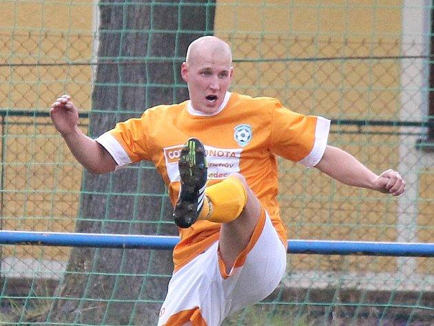 Klikovský fotbalista Zdeněk Zegermacher.
