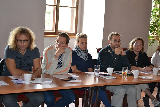V pondělí 9. října se sešli pořadatelé kulturních a společenských akcí v Hradci, aby připravili kalendář kultury na příští rok.