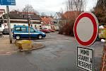 Uzavírka Václavské ulice komplikuje život řidičům i chodcům.