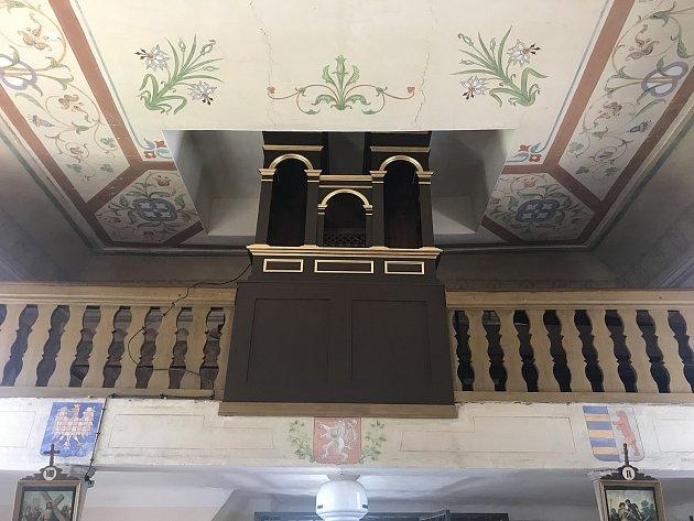 Kaple sv. Jana Křtitele vCepu.