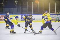 Jindřichohradečtí hokejisté porazili ve druhém finálovém utkání play off krajské ligy Veselí nad Lužnicí 6:3 a vynutili si třetí rozhodující zápas.