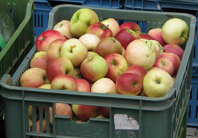 V sobotu se Třeboní nesla vůně jablek. I přes nepřízeň počasí zavítaly na Jabkobraní davy lidí.