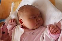 Veronika Matoušková, Dačice. Narodila se 1. prosince mamince Petře Hřebečkové a tatínkovi Stanislavu Matouškovi. Vážila 4290 gramů.
