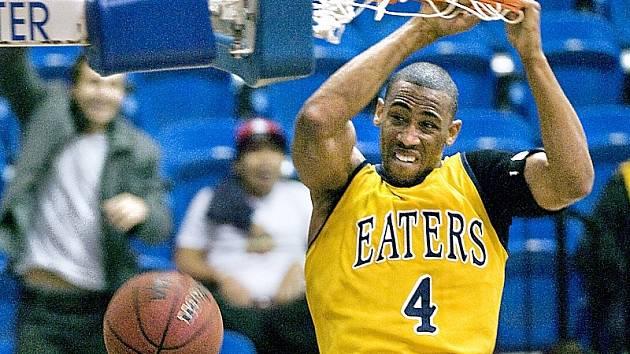 Nová posila hradeckých basketbalistů Zack Atkinson z USA.