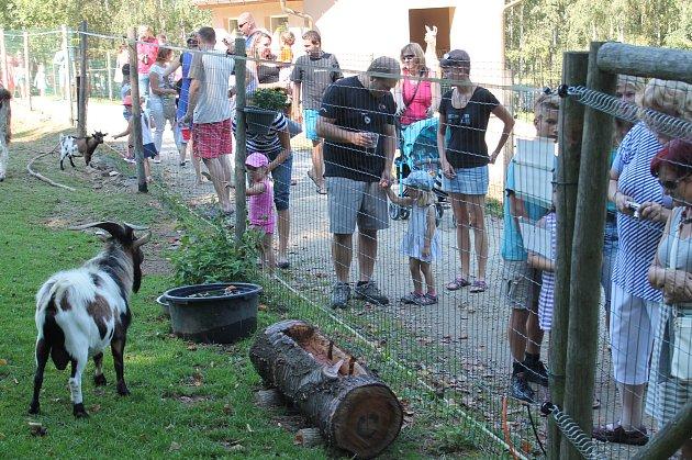 Loučení s létem v zooparku Na Hrádečku.