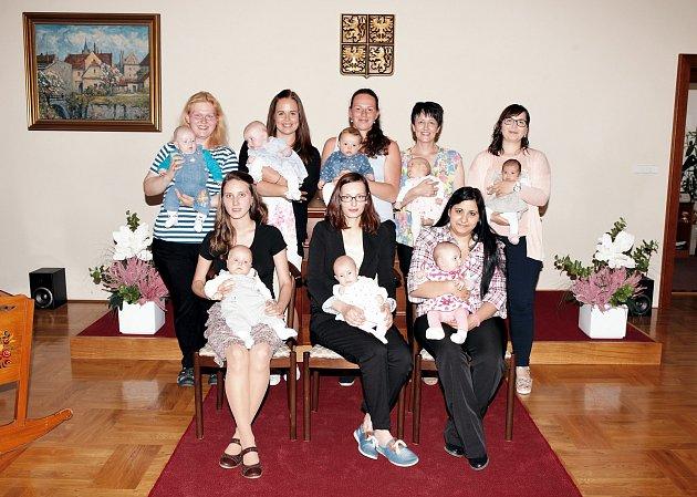 V Třeboni se konalo vítání nově narozených dětí do života.