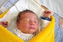 Jiří Janoušek se narodil 24. dubna v 9 hodin a 34 minut Martině a Jiřímu Janouškovým z Kardašovi Řečice. Vážil 3480 gramů a měřil 49 centimetrů.