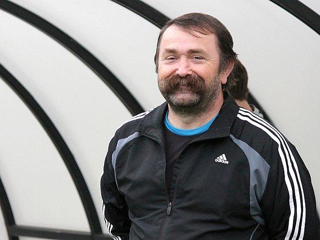 Trenér jindřichohradeckého béčka Radim Kvitský.