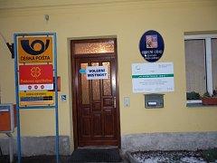 Pošta ve Dvorech nad Lužnicí.