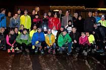 Okolo Babek se v pátek poběží již pošesté.Snímek je z 3. ročníku běhu Okolo Čechova lesíka v Kardašově Řečici.