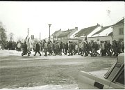 Listopadové události 1989 v Dačicích. Generální stávka.