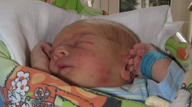 David Koranda z Jindřichova Hradce se narodil 3. prosince 2011 Kristýně a Stanislavu Korandovým. Měřil 50 centimetrů a vážil 3 500 gramů.