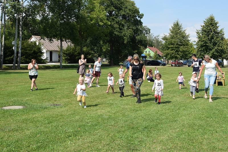 Závod nejmenších účastníků 4 let věku