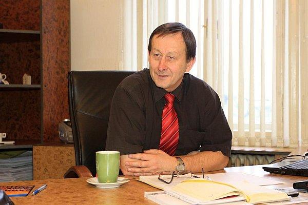 Starosta Jindřichova Hradce Stanislav Mrvka.