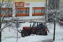 Sněhová nadílka ve Studené.