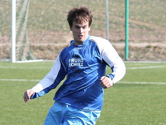 Jarošovský Radek Petrů vstřelil jediný gól utkání, v němž jeho celek zdolal Číměř.
