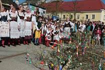 Velikonoční veselice v Jindřichově Hradci.