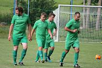 Fotbalisté Lomnice podlehli v derby Suchdolu 2:3.