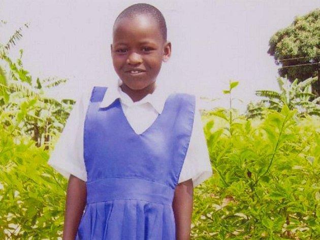 AISHA GWOKYALA. Dívka z Ugandy.