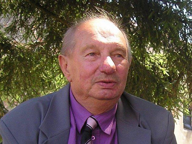 Starosta Českého Rudolce Antonín Doležal.