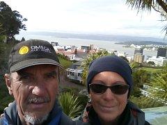 Milena a Josef Andrle navštívili Wellington, hlavní město Nového Zélandu.