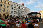 Letní koncert Jindřichohradeckého Big Bandu.