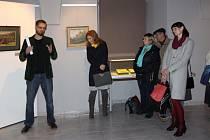 Výstavu obrazů akademického malíře Jana Autengrubera začala v Muzeu Jindřichohradecka.