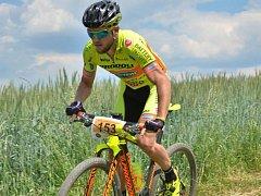 Biker David Kníže.